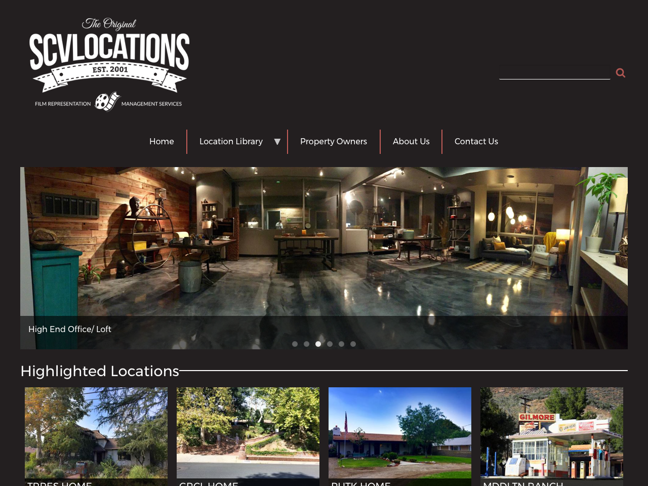 SCV Locations - New Website