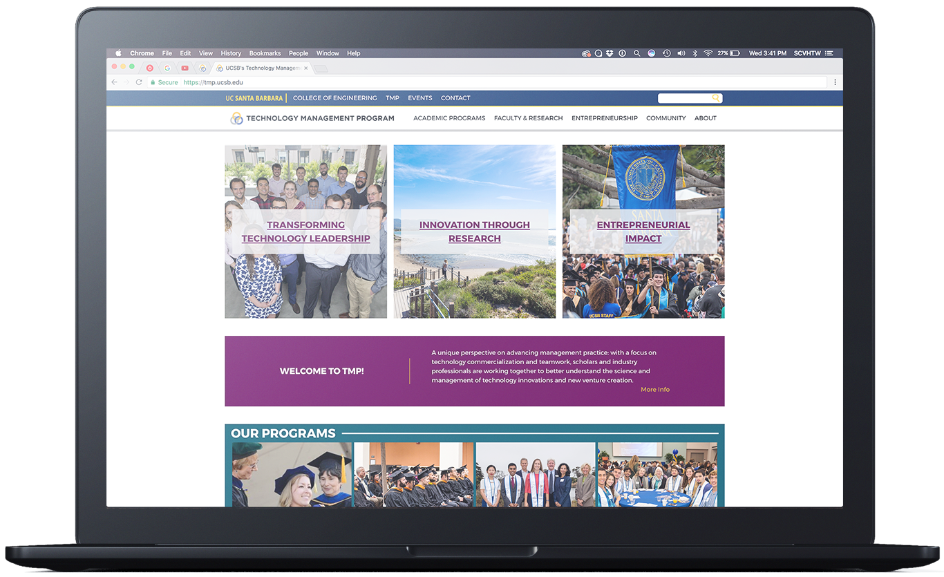 UCSB TMP New Website