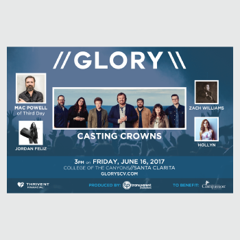 GLORY 2017 Poster