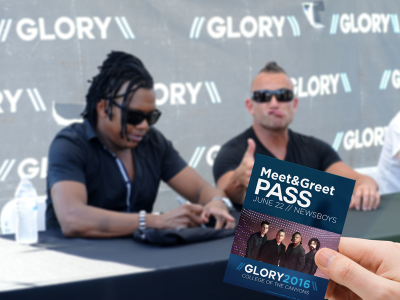 Glory Meet And Greet with Newsboys