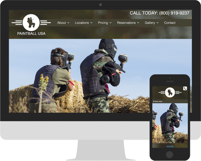 Paintball USA Website