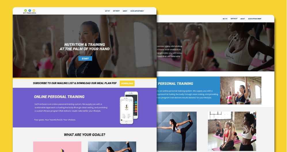 Fitness Coaching Website