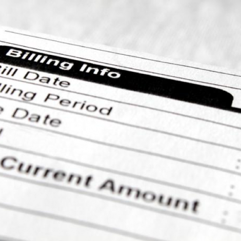 Invice with Billing Info