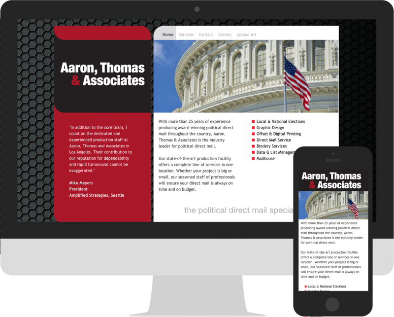 Aaron Thomas & Associates Mock Up